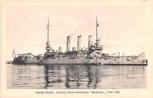 mil051257 - Military Battleship Postcard, Old Vintage Antique Military Ship Post Card