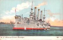 mil051258 - Military Battleship Postcard, Old Vintage Antique Military Ship Post Card