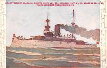 mil051262 - Military Battleship Postcard, Old Vintage Antique Military Ship Post Card