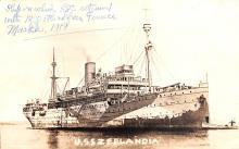 mil051272 - Military Battleship Postcard, Old Vintage Antique Military Ship Post Card