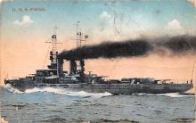 mil051283 - Military Battleship Postcard, Old Vintage Antique Military Ship Post Card