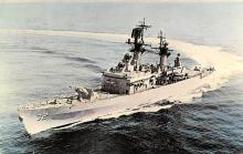 mil051285 - Military Battleship Postcard, Old Vintage Antique Military Ship Post Card