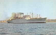 mil051291 - Military Battleship Postcard, Old Vintage Antique Military Ship Post Card