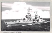 mil051303 - Military Battleship Postcard, Old Vintage Antique Military Ship Post Card