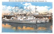mil051308 - Military Battleship Postcard, Old Vintage Antique Military Ship Post Card
