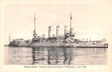 mil051316 - Military Battleship Postcard, Old Vintage Antique Military Ship Post Card