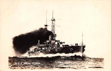 mil051317 - Military Battleship Postcard, Old Vintage Antique Military Ship Post Card