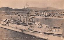 mil051324 - Military Battleship Postcard, Old Vintage Antique Military Ship Post Card