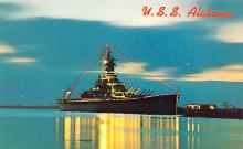 mil051328 - Military Battleship Postcard, Old Vintage Antique Military Ship Post Card