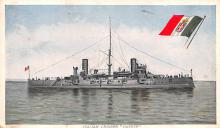 mil051333 - Military Battleship Postcard, Old Vintage Antique Military Ship Post Card