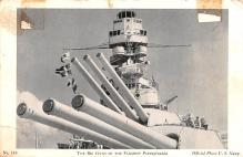 mil051338 - Military Battleship Postcard, Old Vintage Antique Military Ship Post Card
