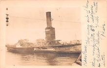 mil051341 - Military Battleship Postcard, Old Vintage Antique Military Ship Post Card