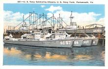 mil051349 - Military Battleship Postcard, Old Vintage Antique Military Ship Post Card
