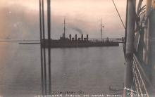 mil051350 - Military Battleship Postcard, Old Vintage Antique Military Ship Post Card