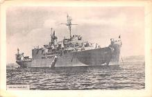 mil051356 - Military Battleship Postcard, Old Vintage Antique Military Ship Post Card