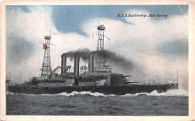 mil051371 - Military Battleship Postcard, Old Vintage Antique Military Ship Post Card