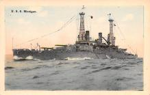 mil051372 - Military Battleship Postcard, Old Vintage Antique Military Ship Post Card