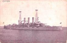 mil051381 - Military Battleship Postcard, Old Vintage Antique Military Ship Post Card