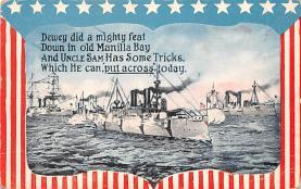 mil051383 - Military Battleship Postcard, Old Vintage Antique Military Ship Post Card