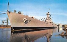 mil051393 - Military Battleship Postcard, Old Vintage Antique Military Ship Post Card