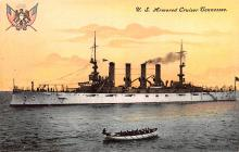 mil051396 - Military Battleship Postcard, Old Vintage Antique Military Ship Post Card