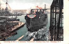 mil051398 - Military Battleship Postcard, Old Vintage Antique Military Ship Post Card
