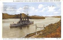 mil051399 - Military Battleship Postcard, Old Vintage Antique Military Ship Post Card