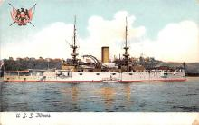 mil051409 - Military Battleship Postcard, Old Vintage Antique Military Ship Post Card