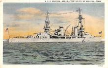mil051415 - Military Battleship Postcard, Old Vintage Antique Military Ship Post Card