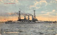 mil051420 - Military Battleship Postcard, Old Vintage Antique Military Ship Post Card