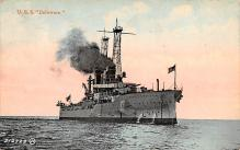 mil051422 - Military Battleship Postcard, Old Vintage Antique Military Ship Post Card