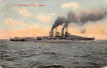 mil051425 - Military Battleship Postcard, Old Vintage Antique Military Ship Post Card