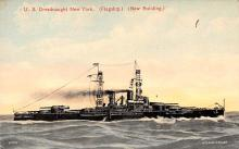 mil051428 - Military Battleship Postcard, Old Vintage Antique Military Ship Post Card