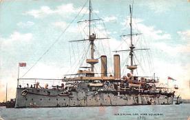 mil051432 - Military Battleship Postcard, Old Vintage Antique Military Ship Post Card