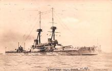 mil051434 - Military Battleship Postcard, Old Vintage Antique Military Ship Post Card