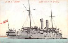 mil051437 - Military Battleship Postcard, Old Vintage Antique Military Ship Post Card