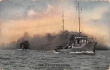 mil051439 - Military Battleship Postcard, Old Vintage Antique Military Ship Post Card