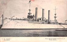 mil051441 - Military Battleship Postcard, Old Vintage Antique Military Ship Post Card