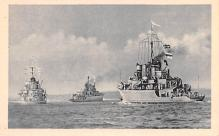 mil051443 - Military Battleship Postcard, Old Vintage Antique Military Ship Post Card