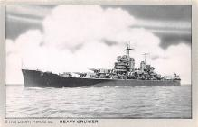 mil051449 - Military Battleship Postcard, Old Vintage Antique Military Ship Post Card