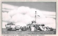 mil051451 - Military Battleship Postcard, Old Vintage Antique Military Ship Post Card