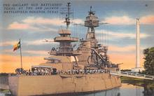 mil051452 - Military Battleship Postcard, Old Vintage Antique Military Ship Post Card