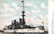 mil051465 - Military Battleship Postcard, Old Vintage Antique Military Ship Post Card