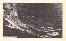 mil051479 - Military Battleship Postcard, Old Vintage Antique Military Ship Post Card