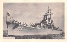 mil051481 - Military Battleship Postcard, Old Vintage Antique Military Ship Post Card
