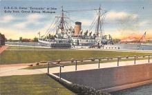 mil051486 - Military Battleship Postcard, Old Vintage Antique Military Ship Post Card