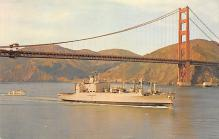 mil051492 - Military Battleship Postcard, Old Vintage Antique Military Ship Post Card