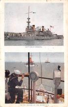 mil051497 - Military Battleship Postcard, Old Vintage Antique Military Ship Post Card