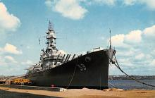 mil051561 - Military Battleship Postcard, Old Vintage Antique Military Ship Post Card