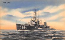mil051569 - Military Battleship Postcard, Old Vintage Antique Military Ship Post Card